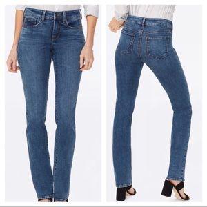 NYDJ Marilyn Straight Jeans in Presidio Size 10
